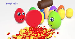 Learn colors Learn shapes Surprise eggs and Hammer 3D Cartoons for children Video for kidsLearn colors Learn shapes Surprise eggs and Hammer 3D Cartoons for children Video for kids_HDWon.Com.mp4