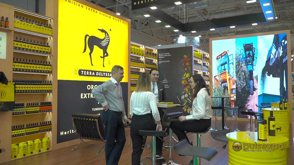Pulsexpo Застройка стенда компании CHO GROUP на выставке Продэкспо 2020