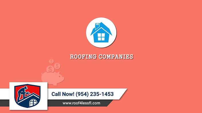 Roof 4 Less FL