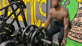 Weighted Jump Squats