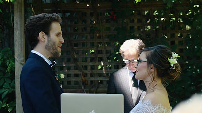 Caitlin & Ben Backyard Wedding