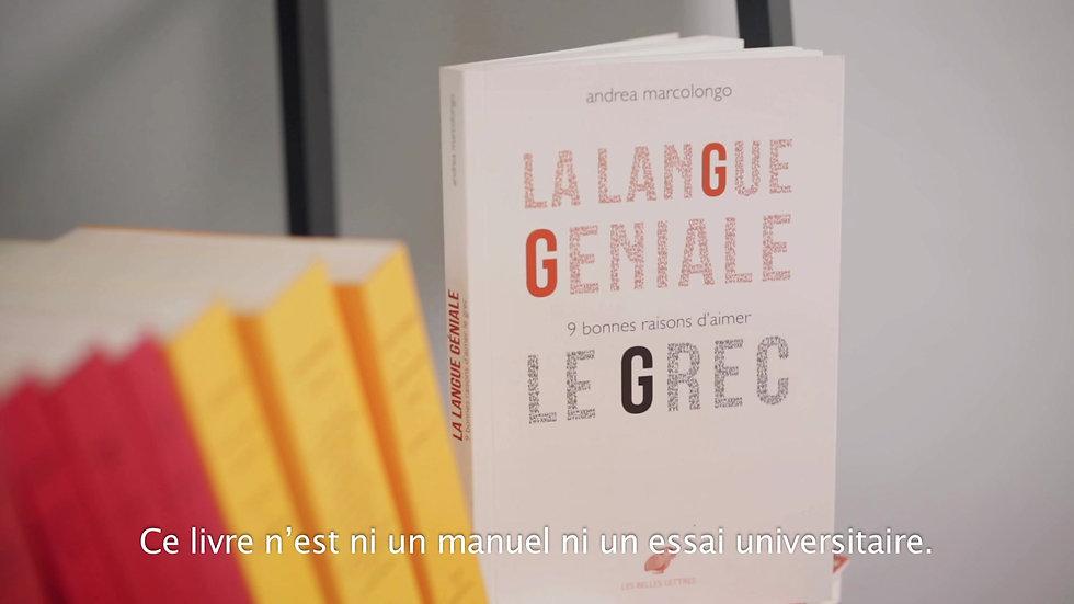 Les Belles Lettres - La langue géniale