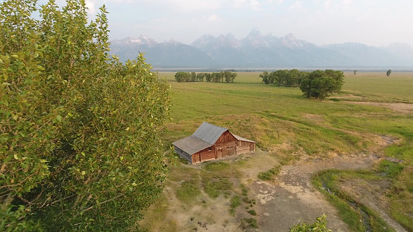 Moulton Barn, Grand Tetons