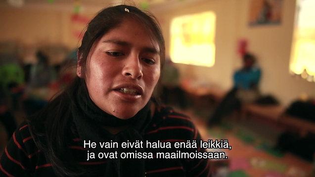Arman ja Aymara-lapset - Väkivalta