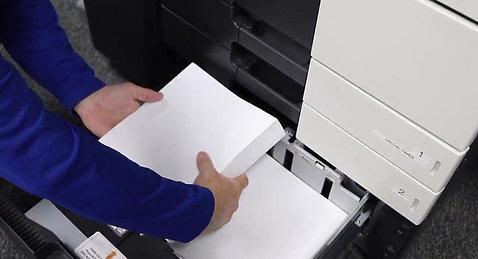 Loading Paper