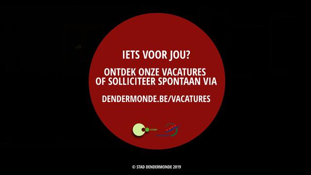 Werken bij Stad Dendermonde