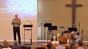 Church Service: 2 Timothy 2:14 (September 12, 2021)
