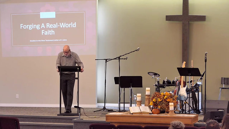 Church Service: 1 John 2:7 (October 17, 2021)