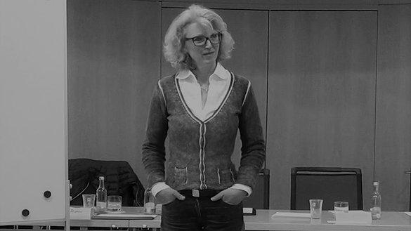 Juliane Feldner noch immer im Seminar