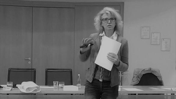 Juliane Feldner im Seminar