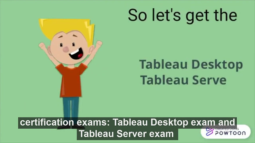 Know more about Tableau !