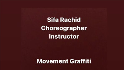 Movement Graffiti Choreography
