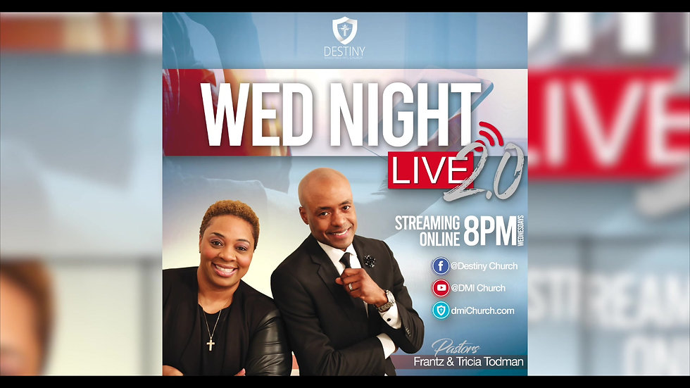 Wednesday Night Live 2.0 Service Announcement!