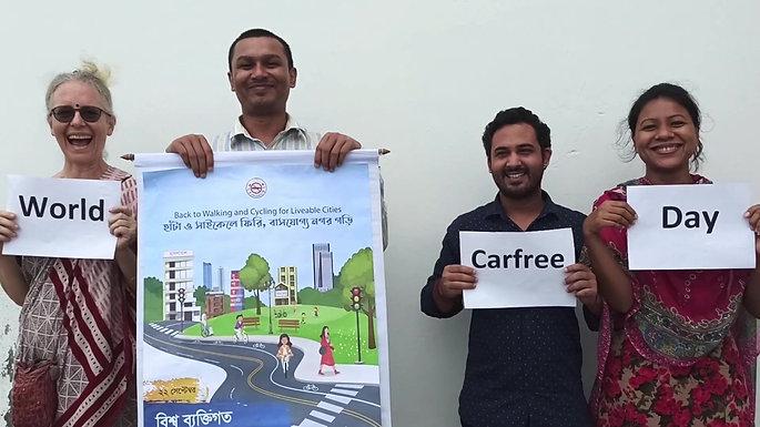 World Carfree Day Greetings