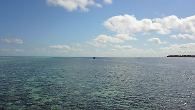 Heron Island Zoom Along Sykes Reef