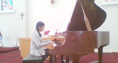 Piano recital May 2017