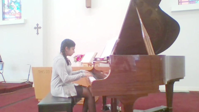 Piano recital May 2017