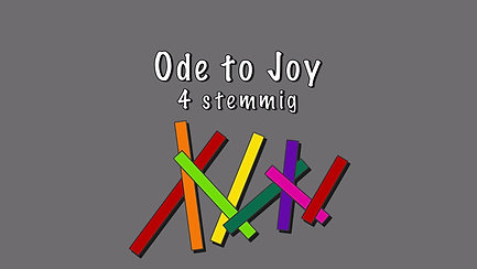 Ode to Joy 4 stemmig