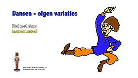 Dansen-eigen-variaties