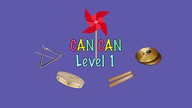 Cancan Level 1