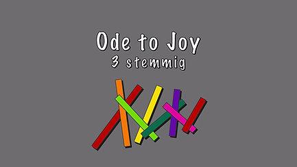 Ode to Joy 3 stemmig