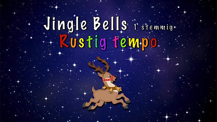 Jingle Bells 1 stemmig langzaam