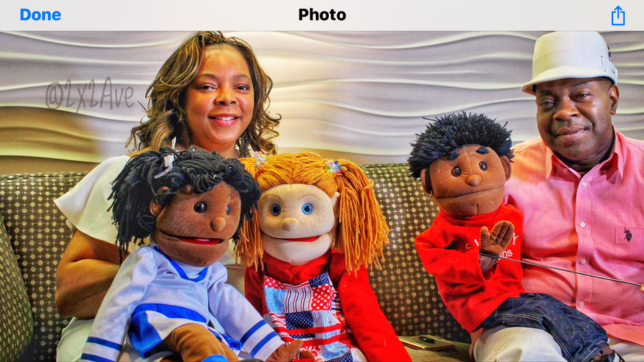 B. Faith and Friends Puppet Ministry - Minister's Samuel and Karen Brown