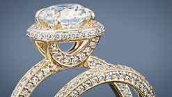 Unique Diamond Rings In Dallas. R.W. Diamond Broker