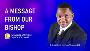 A word from our Bishop