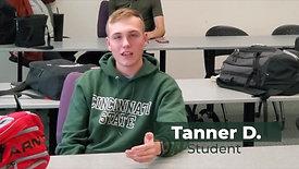 Tanner D Testimonial