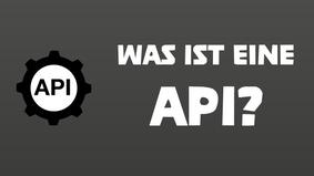 Erklärvideo: Was ist eine API?