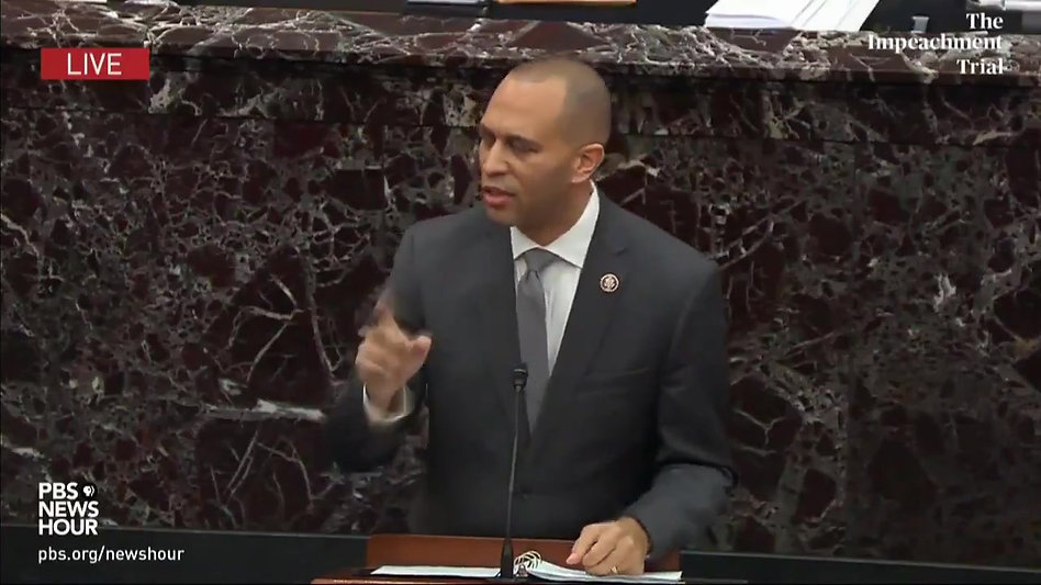 Rep Hakeem Jeffries Compares Trump to Terrorists Who Attacked America on 9/11 and Nazis in WWII