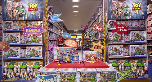 Pixar Toy Story 4 x Smyths Commercial