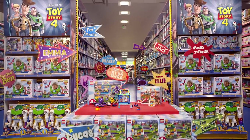 Pixar Toy Story 4 x Smyths Commercial