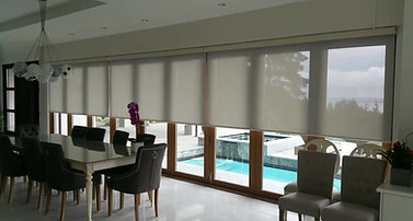 motorized roller shade by theblinds