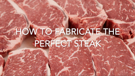 F&F at Our Meat Cut Shop 2nd Edition | How To Fabricate a Steak