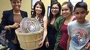 Thanksgiving Basket Give Away 2016