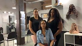 Connect, Collaborate and Commerce with THEE Hair District Co-Founders, Shaiy, Jasmine, Ashley Nicole