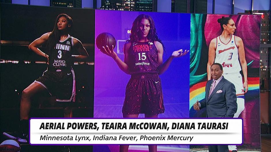 WNBA's 25th Anniversary Uniforms - Concrete Runway