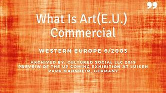 E.U. WIA Commercial