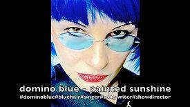 domino blue - painted sunshine