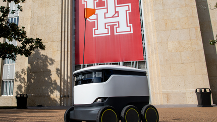 Robotic Food Delivery at the University of Houston