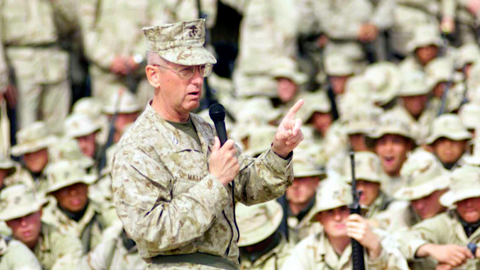 TRIBUTE: Call Sign Chaos - James Mattis and the US Marines