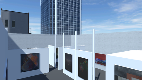 Rooftop Gallery Exhibit