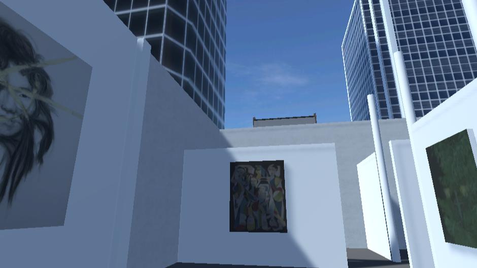 Exhibition:  Rooftop Gallery, Los Angeles