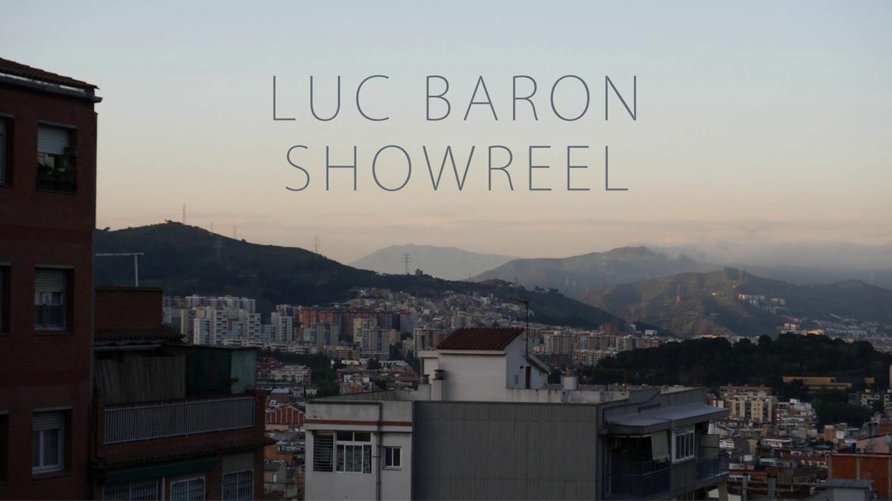 SHOWREEL LUC BARON