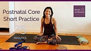 23 Minutes Postnatal Core Short Practice 23分鐘產後收腹運動