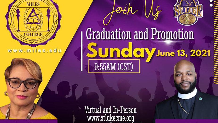Graduation and Promotion Sunday