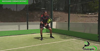PADEL TRAINER - Wall turns