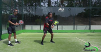 PADEL TRAINER - Backhand and variations